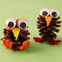 turkey pine cone crafts