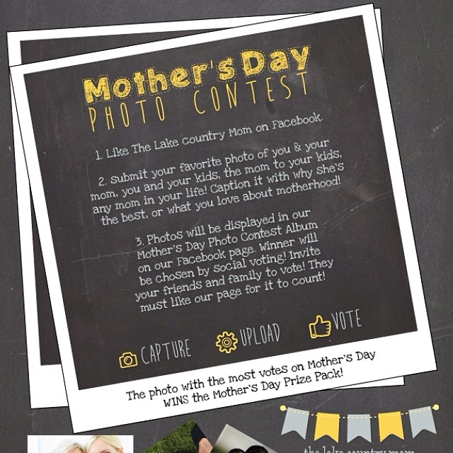 #contest #facebook #mothersday #mommy #mom #love #family #prizes #mom #igmom #blogger #blog thelakecountrymom.com Facebook.com/thelakecountrymom