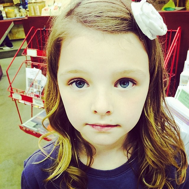 My big-eyed beauty! #thelakecountrydaughter