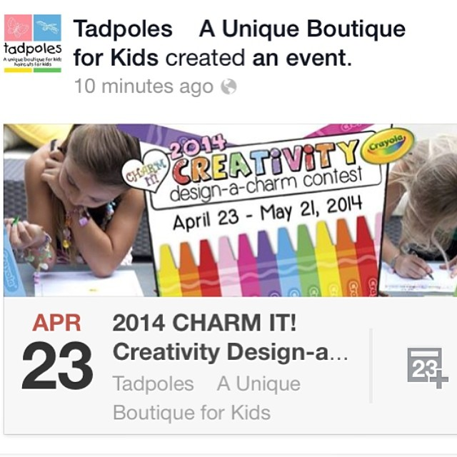 @tadpolesboutique in Delafield, WI! Design a charm! How fun! #charms #delafield #kids #thelakecountrymom #tadpoles #boutique