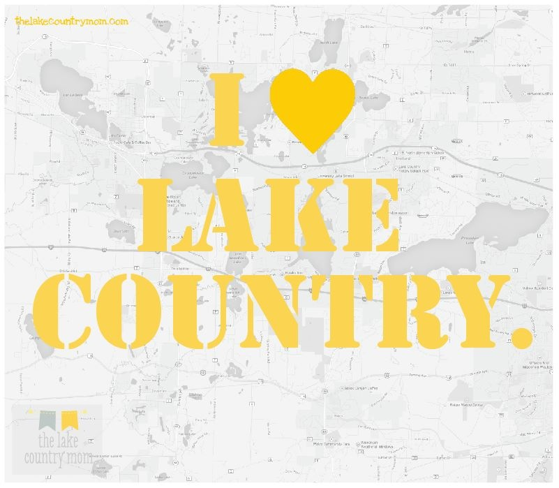 The Lake Country Area of WI