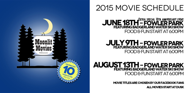 Moonlit Movies 10th Anniversary Event