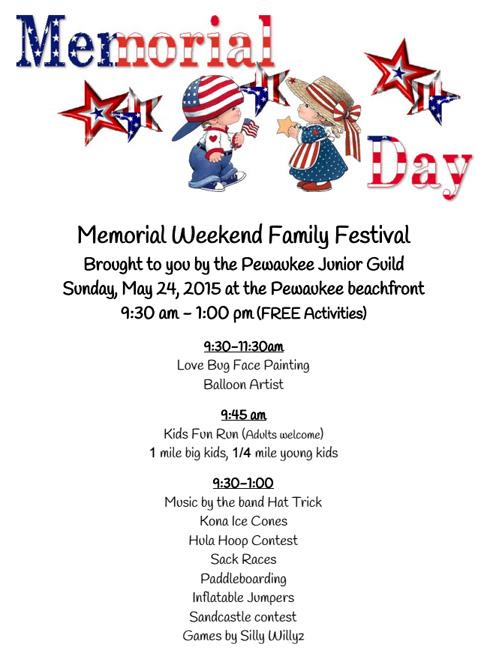 Memorial Weekend Family Festival