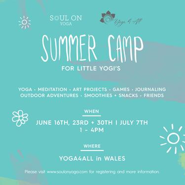 Summer Camp for Little Yogis