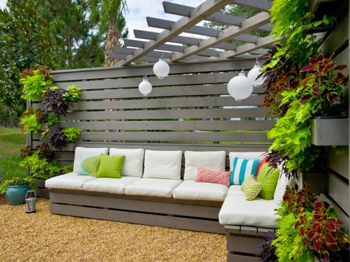 Bon Backyard Privacy Wall