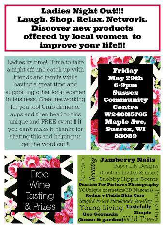 Ladies Night Out | Laugh. Shop. Relax. Network.