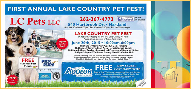 LC Pets LLC's Lake Country Pet Fest | June 20th, 2015