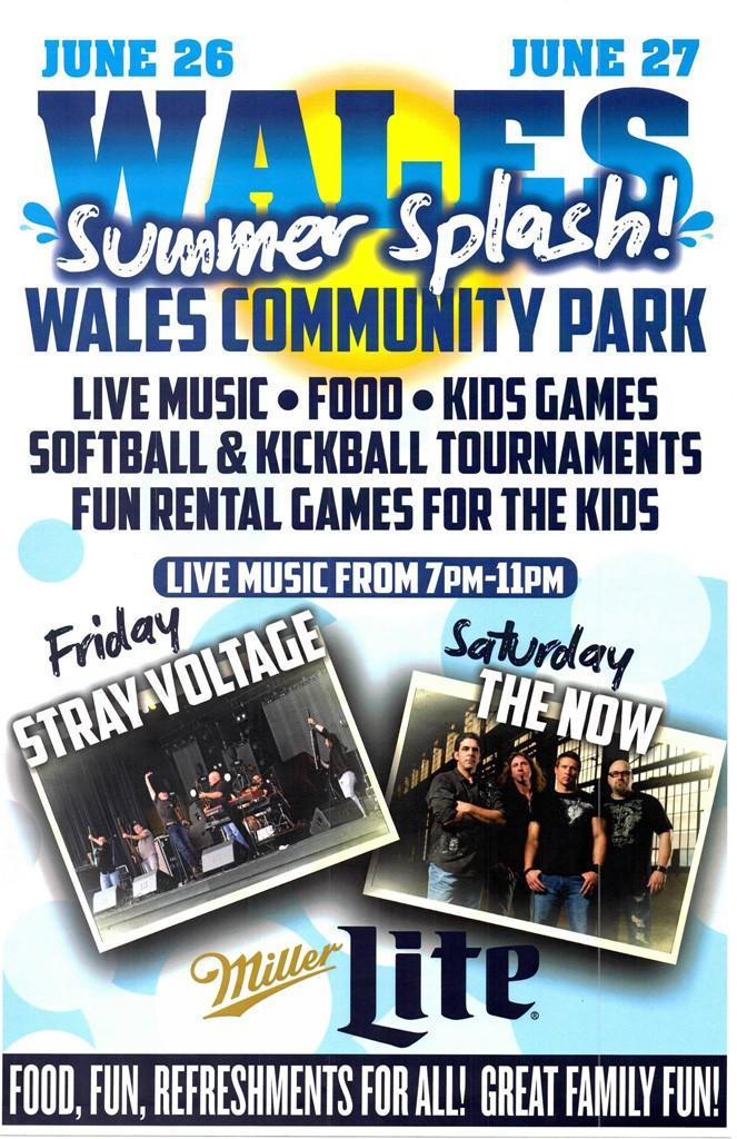 Wales Summer Splash 2015