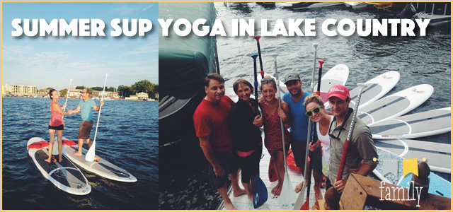 Summer SUP Yoga in Lake Country : Soul On Yoga + Boards and More