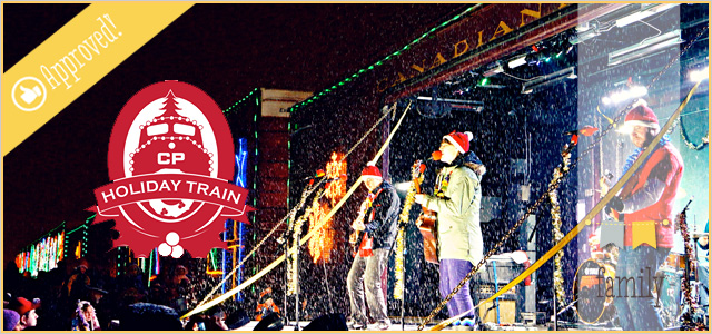 Canadian Pacific Holiday Train Comes to Hartland |2015