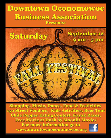 4th Annual Downtown Oconomowoc Fall Festival