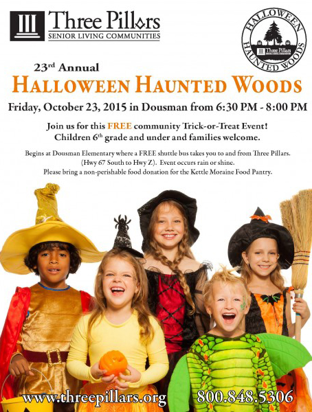 23rd Annual Halloween Haunted Woods | Three Pillars