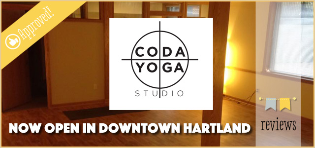 Coda Yoga Studio | New Student Intro Deal | Now Open in Hartland
