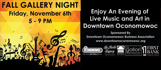 Fall Gallery Night / Sounds of Oconomowoc
