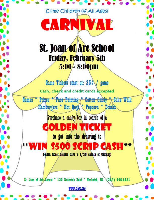 Carnival at St. Joan of Arc School | 2.5.2016