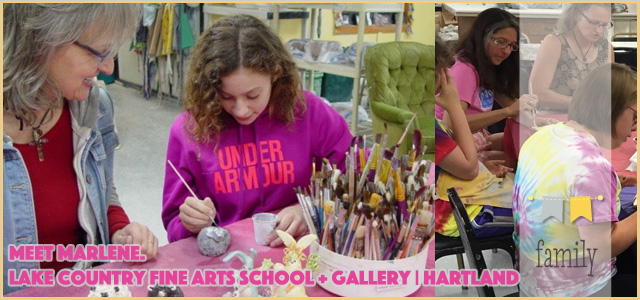 Meet Marlene. Owner of Lake Country Fine Arts School + Gallery | Hartland