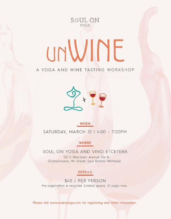 unWine | A Yoga + Wine Tasting Workshop