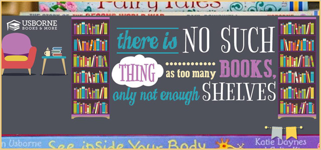 A book is a device to ignite the imagination. | Usborne Books for Kids + More | GIVEAWAY!