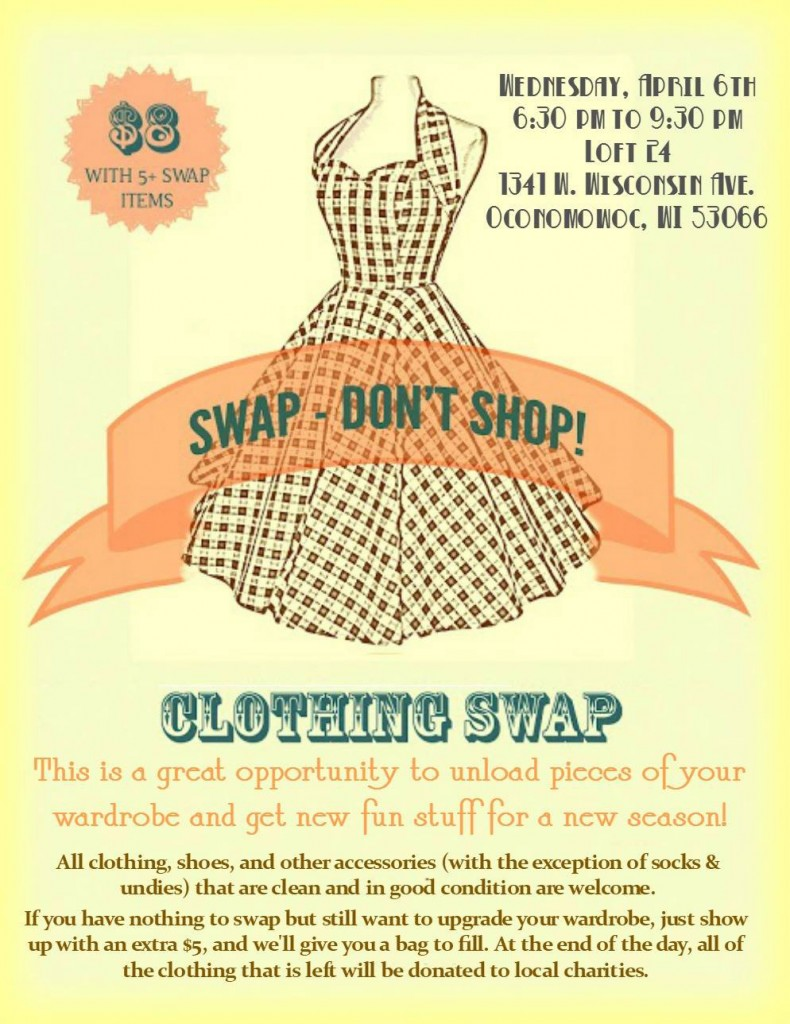Swap – Don't Shop! Event at Loft 24