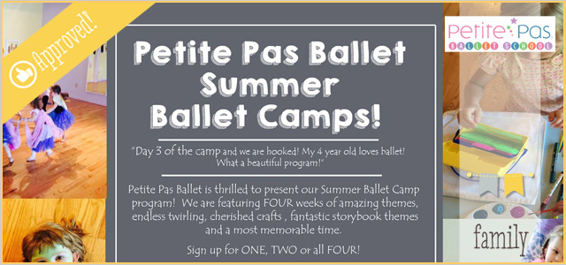 Summer Ballet Camps at Petite Pas! | First Chance to Register Before Anyone Else!