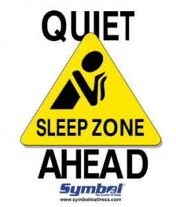 Sleep Zone Ahead