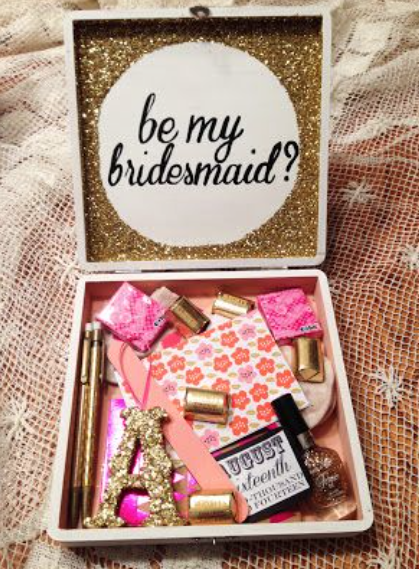 """Will You Be /Thank You For Being"" My Bridesmaid"" Workshop"