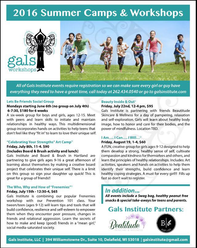 Gals Institute, LLC • The Lake Country Mom