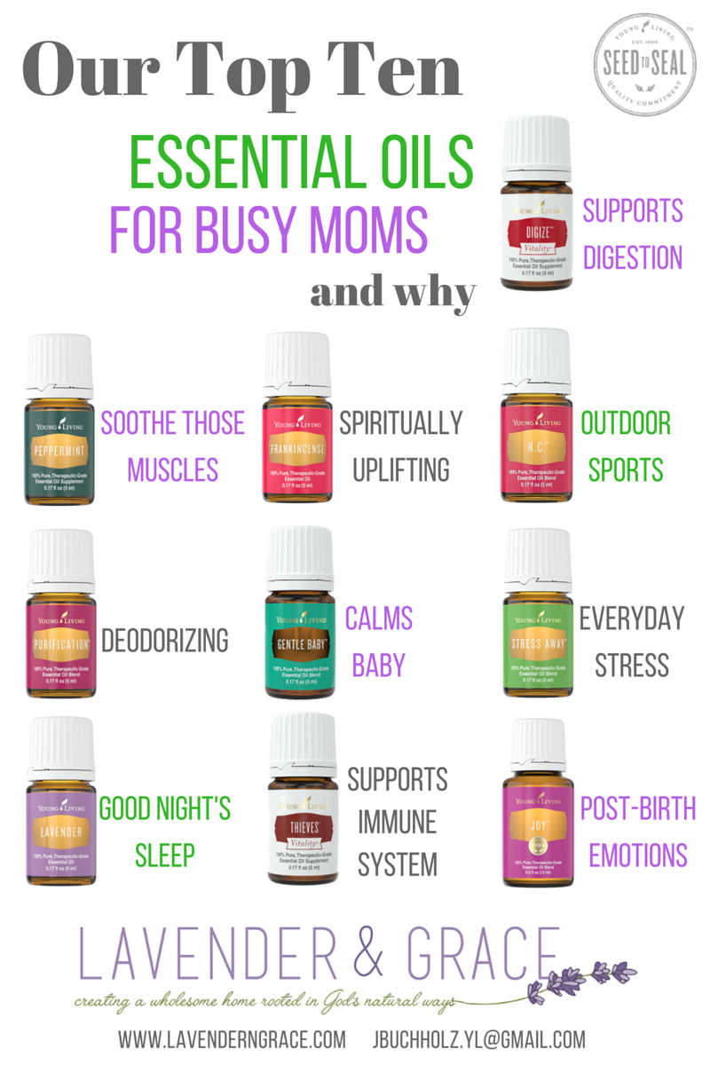 Top 10 essential oils every busy mom needs • The Lake Country Mom