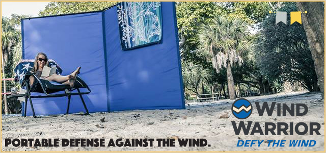Get out of the wind! | Wind Warrior | Local