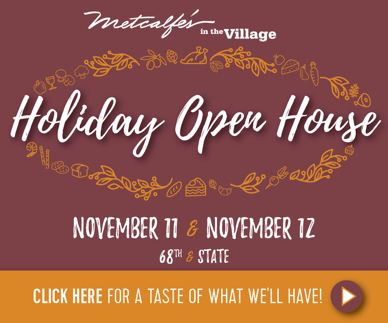 Metcalfe's Wauwatosa Holiday Open House • The Lake Country Mom