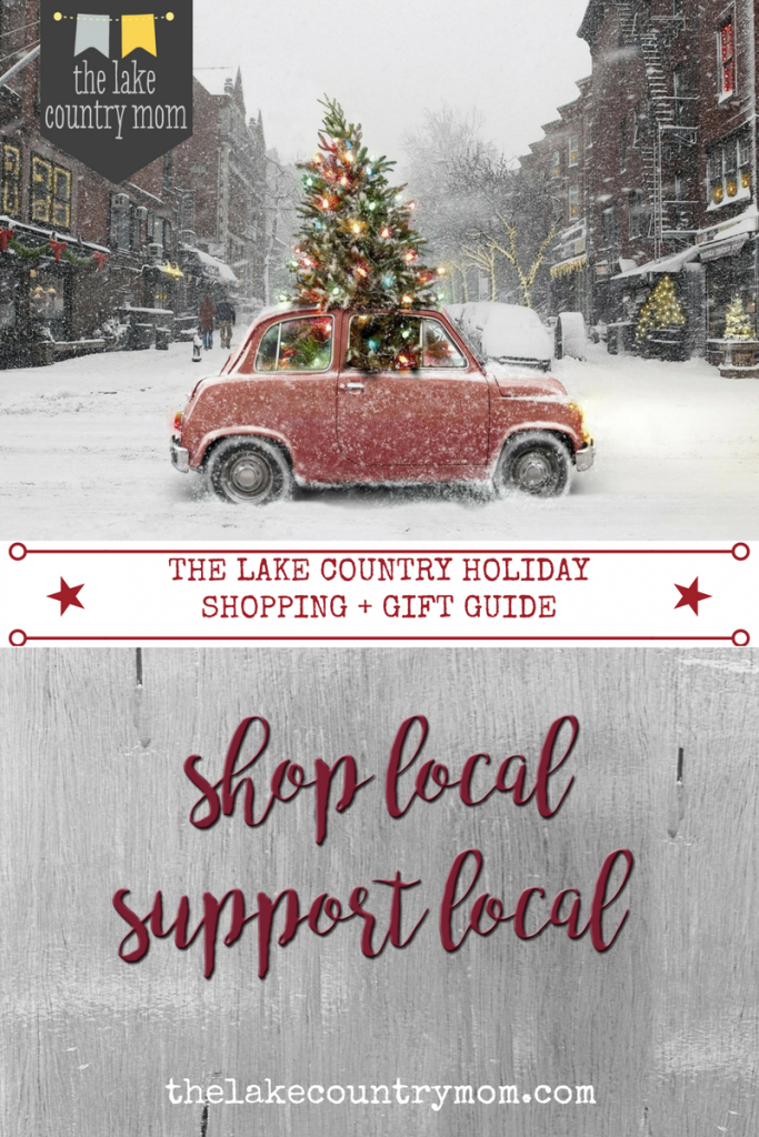 Lake Country Holiday Shopping + Gift Guide 2016