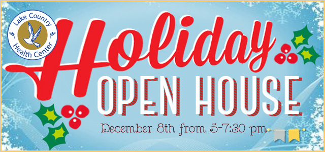 Holiday Open House at Lake Country Health Center | 12.8.16