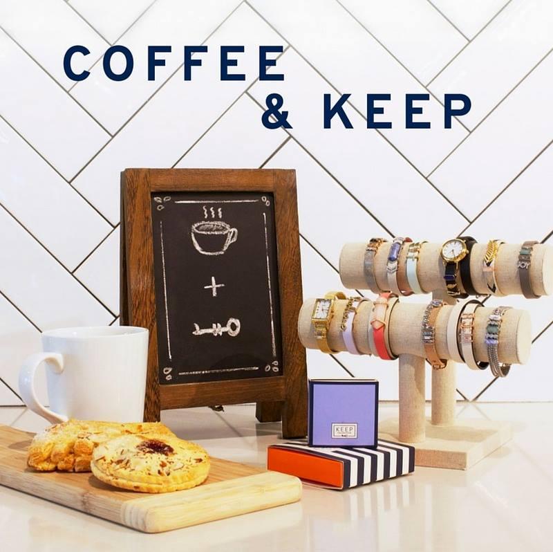 Coffee & KEEP Pop Up!