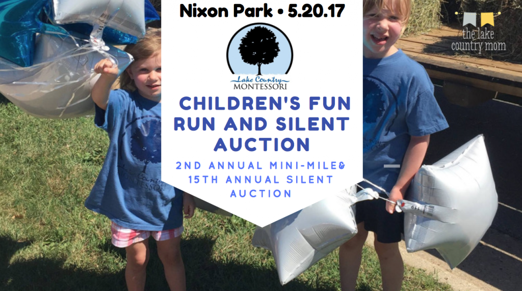 Mini-Mile Children's Fun Run & 15th annual Silent Auction | Hartland's Nixon Park!