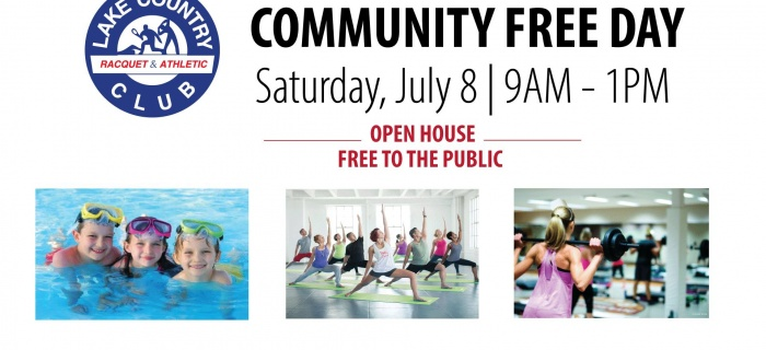 Community Free Day! | Lake Country Racquet and Athletic Club