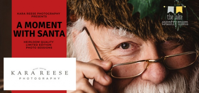 Photos with Santa like you've never seen before | Kara Reese Photography