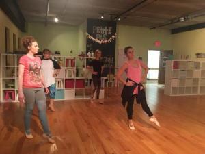 adult ballet barre class