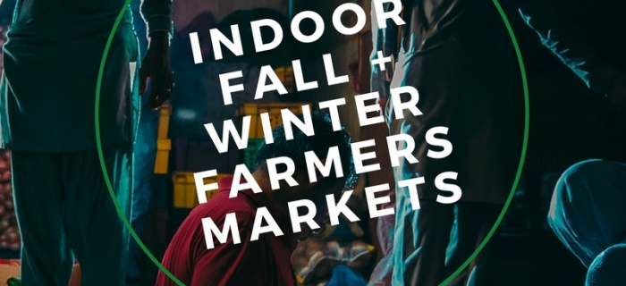 Indoor Fall + Winter Farmers Markets in Southeast WI | 2017-2018