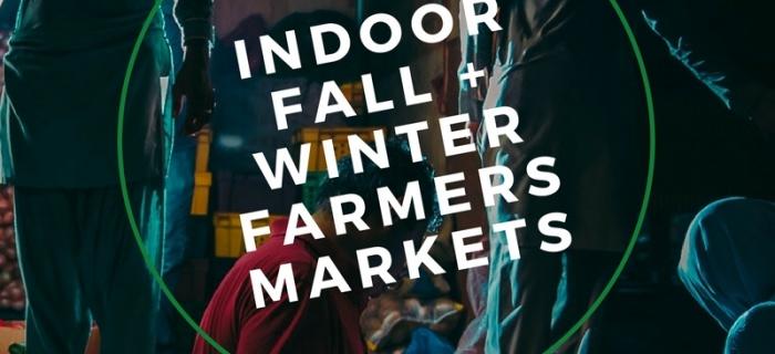 Indoor Fall + Winter Farmers Markets in Southeast WI | 2017-2018