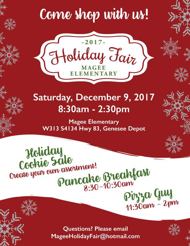 Magee Holiday Fair 2017