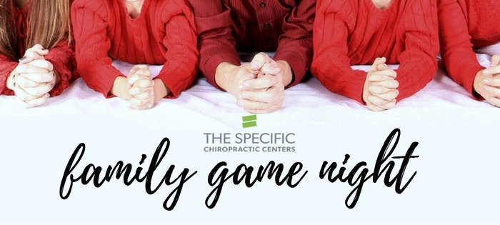 A fun event + message from Dr. Mike! | Family Game Night