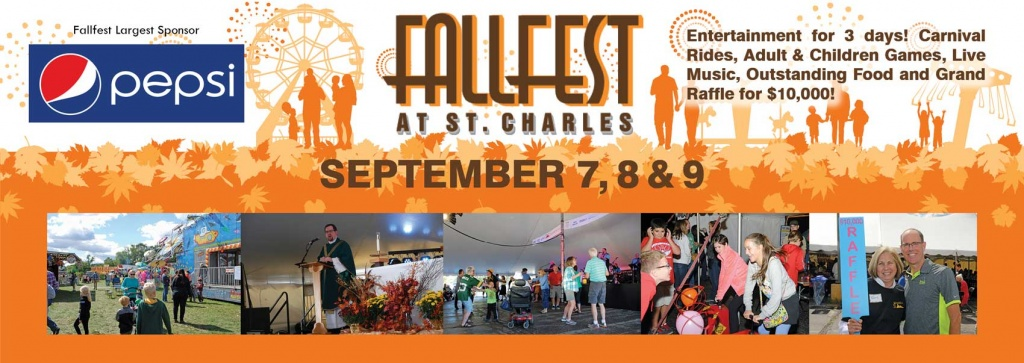 a three day festival   fallfest at st  charles